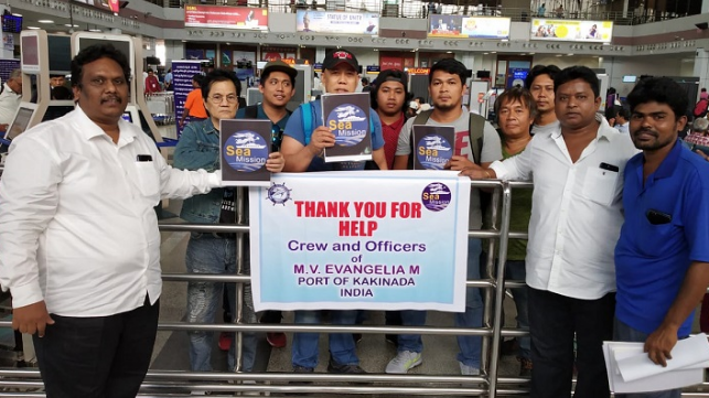 Thank-You to the Charities that Support Seafarers