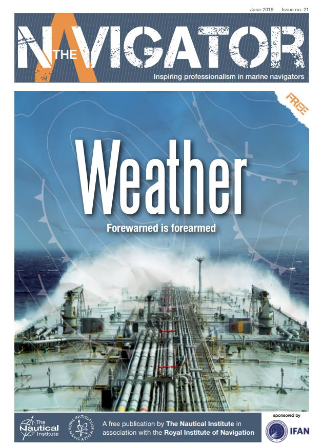 """Issue 21 of The Navigator Keeps a """"Weather Eye"""""""