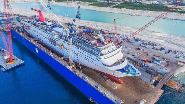 Almaco To Outfit 30 Staterooms Aboard Cruise Ship Carnival Elation