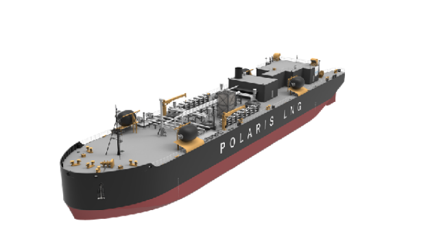 Wärtsilä will supply its LNG Cargo Handling System for a new 5400 m3 LNG bunker barge being built in the U.S. Copyright: VARD Marine.