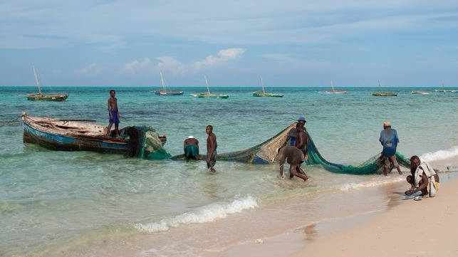 Fishermen in Mozambique