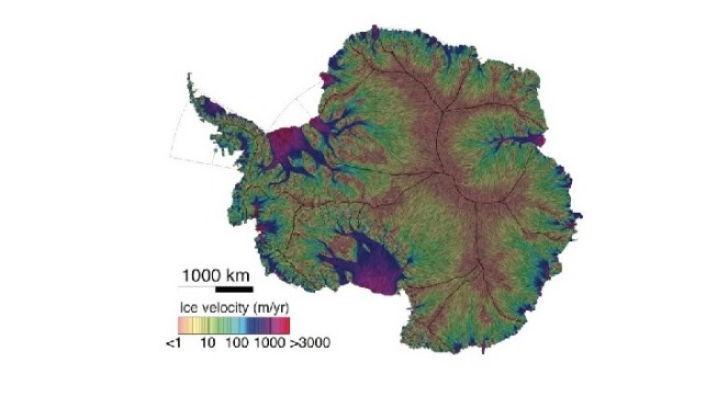 Glaciologists Unveil Most Precise Map of Antarctic Ice Flow on map of argentina, south america, map of arctic, map of pangea, southern ocean, map of mongolia, map of north pole, map of europe, map of the continents, map of earth, map of south shetland islands, map of western hemisphere, south pole, pacific ocean, map of italy, indian ocean, map of iceland, map of south orkney islands, north america, arctic ocean, map of oceania, map of weddell sea, map of africa, map of antarctic peninsula, map of world, map of australia, map of ross ice shelf, north pole, atlantic ocean,