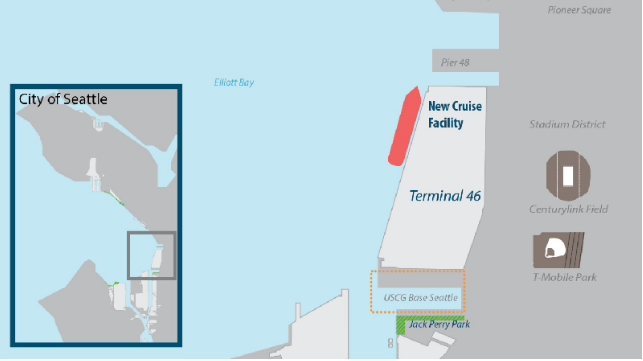 Port of Seattle to Redevelop Container Terminal for Cruise Uses
