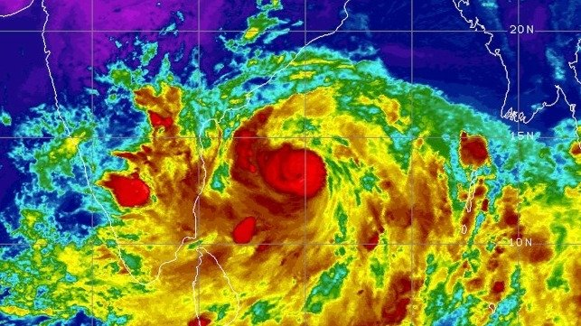 Indian Coast Guard and Navy Brace for Arrival of Cyclone Fani