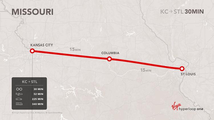 Virgin Hyperloop One Attracting U S Interest