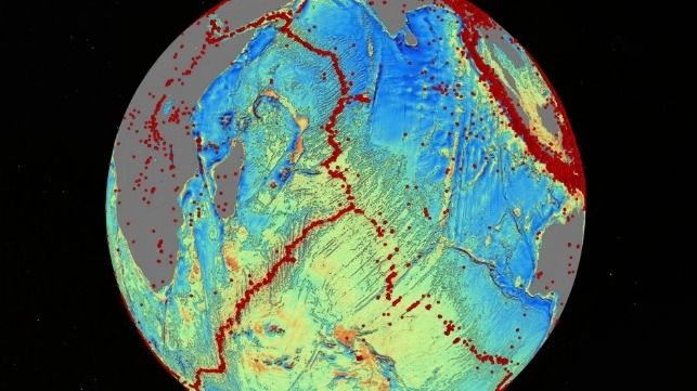 Navy-Funded Scientist Wins Award for Groundbreaking Seafloor Map