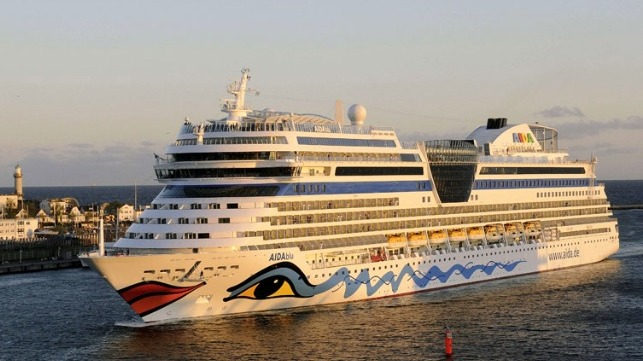 AIDA delayed its resumption of cruise service till September