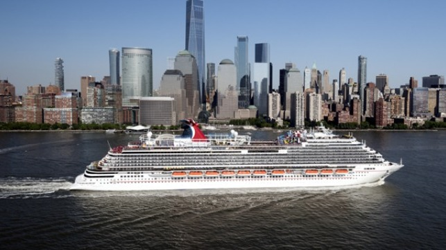 Carnival Horizon courtesy of Carnival Cruise Line