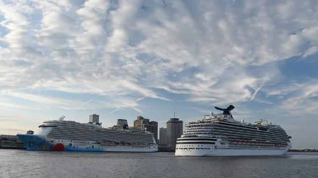 Porto de Nova Orleans registra recorde de cruzeiros