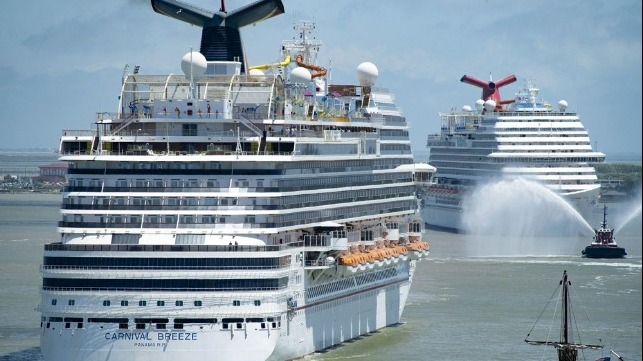 ports supporting cruise restart with vaccinations