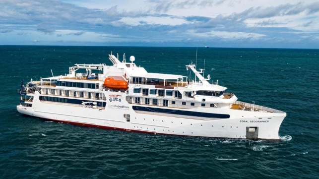 Vard delivers new cruise ship