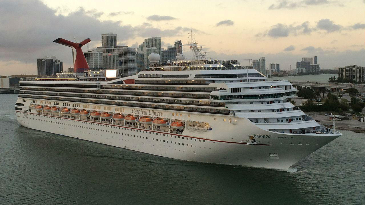 Man Overboard From Carnival Liberty