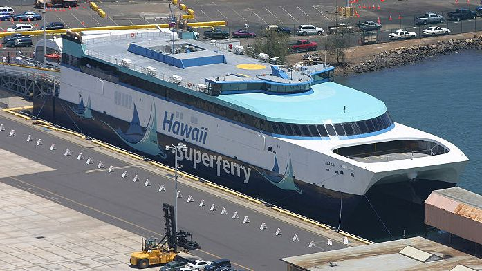 Officials Seek Navy Ship For Maine To Canada Ferry