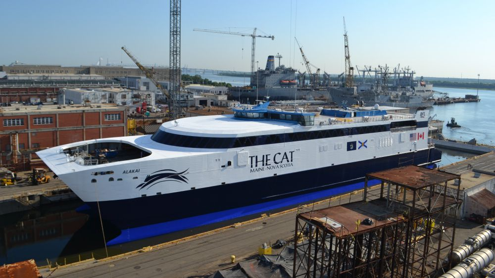 Refit Completed On Leased U S Navy Fast Ferry