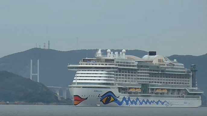 First DualFuel Air Lubricated Cruise Ship Delivered - Cruise ship fuel