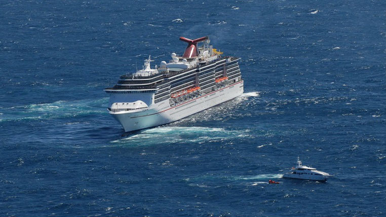 Cruise Ship Rescues Superyacht Crew - Cruise ship rescue