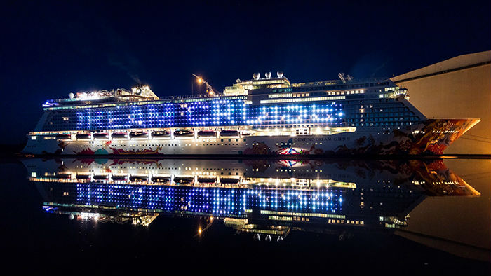 Genting Dream To Home Port In Singapore