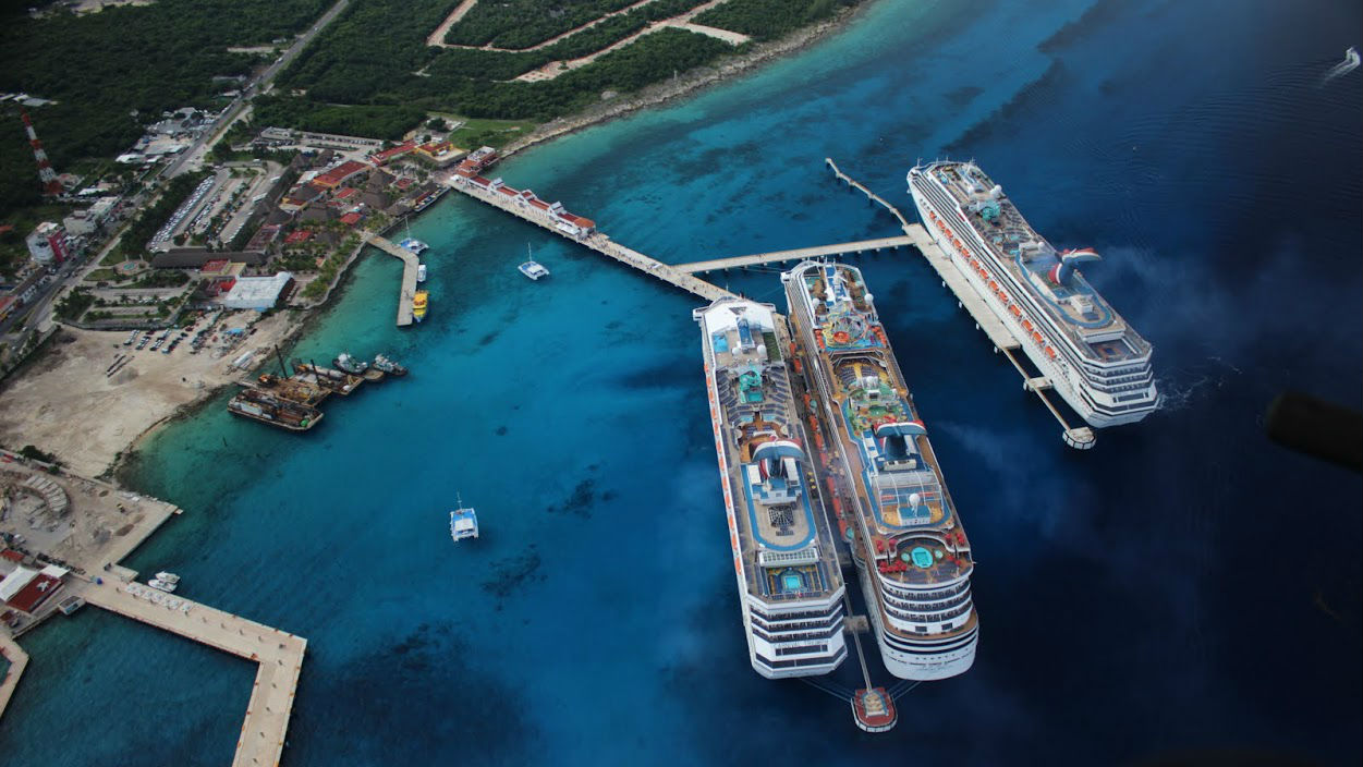 New Cruise Terminal At Caribbeans MostVisited Port - Cozumel cruise ship schedule