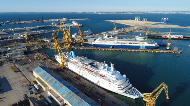 Navantia Grows as a Cruise Ship Repair Specialist