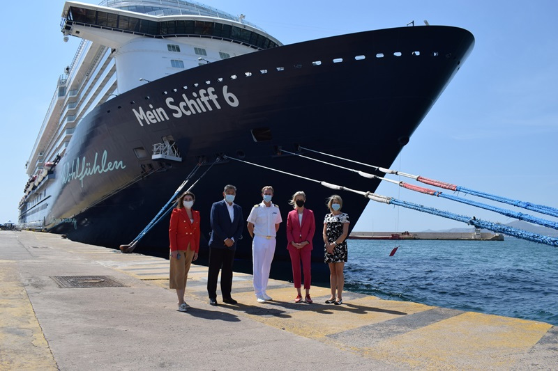 First Large Cruise Ship Resumes Service in Greece