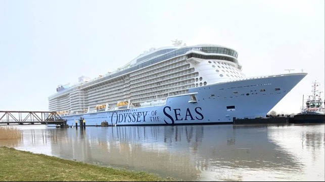 new cruise ship Odyssey of the Seas