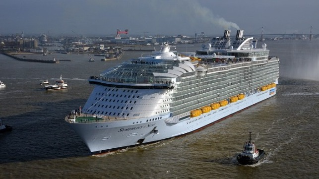 Royal Caribbean reports loss but optomistic outlook
