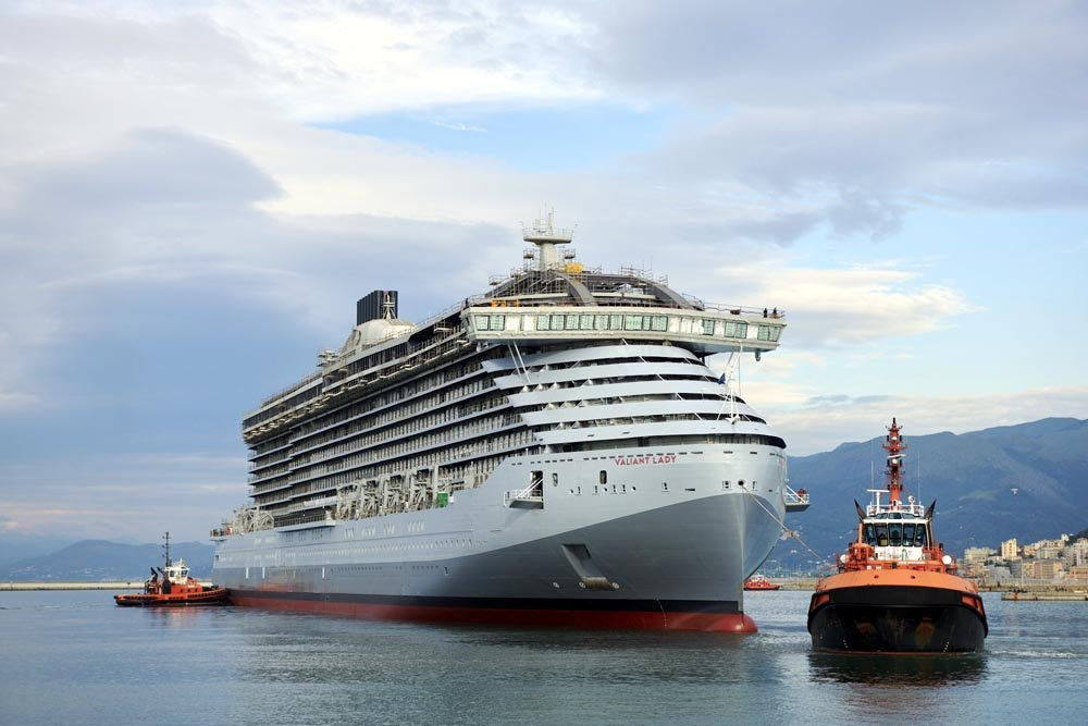 Fincantieri Completes Float Out of New Cruise Ship Valiant Lady