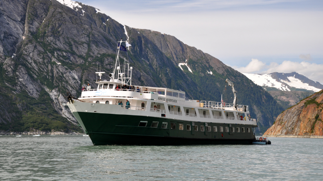 small cruise ships sailing to Alaska in 2021