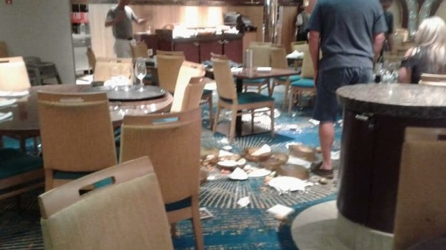 electrical malfunction causes sudden list on carnival cruise ship