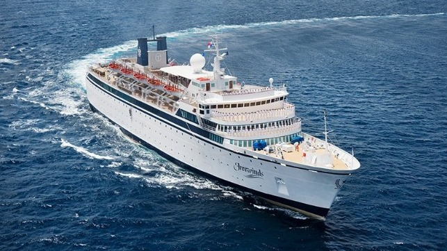 Scientologists' Cruise Ship Quarantined For Measles