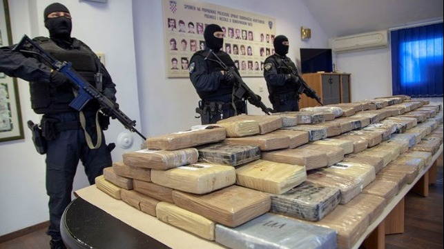 cocaine seizure in Coratia