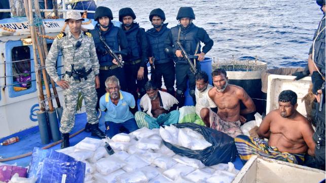 drugs on fishing boat