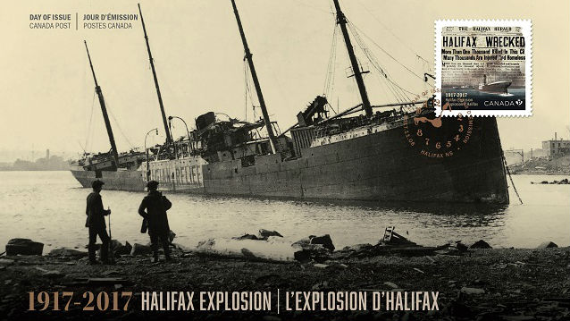 Halifax Explosion Commemorated With New Stamp