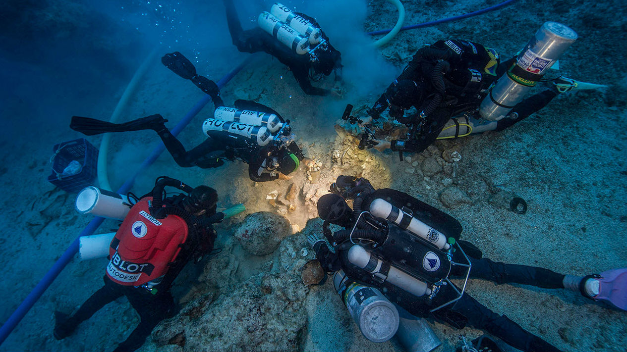 Well-Preserved Skeleton Found on Ancient Wreck - The Maritime Executive