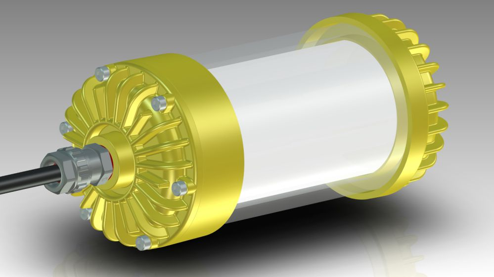 New Explosion Proof LED Lamp