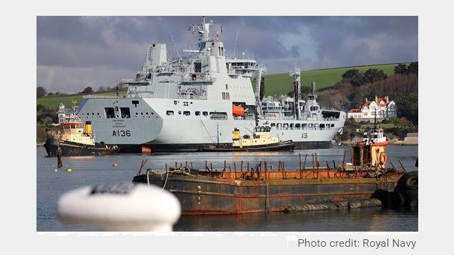The Royal Navy Chose Exigo PAGA for its New Vessels