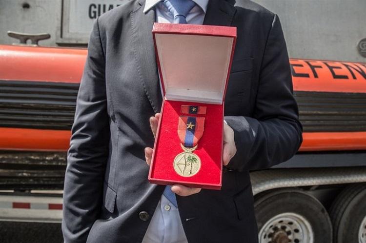 Sea Shepherd Awarded Military Honor