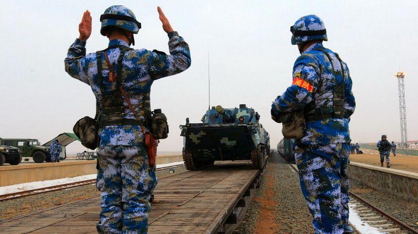 Marine Ranks In Order >> China May Deploy Marines to Gwadar Port
