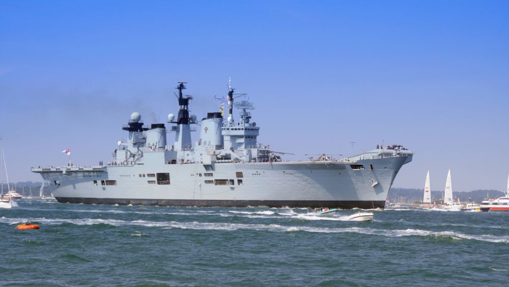 The Decline of the Royal Navy