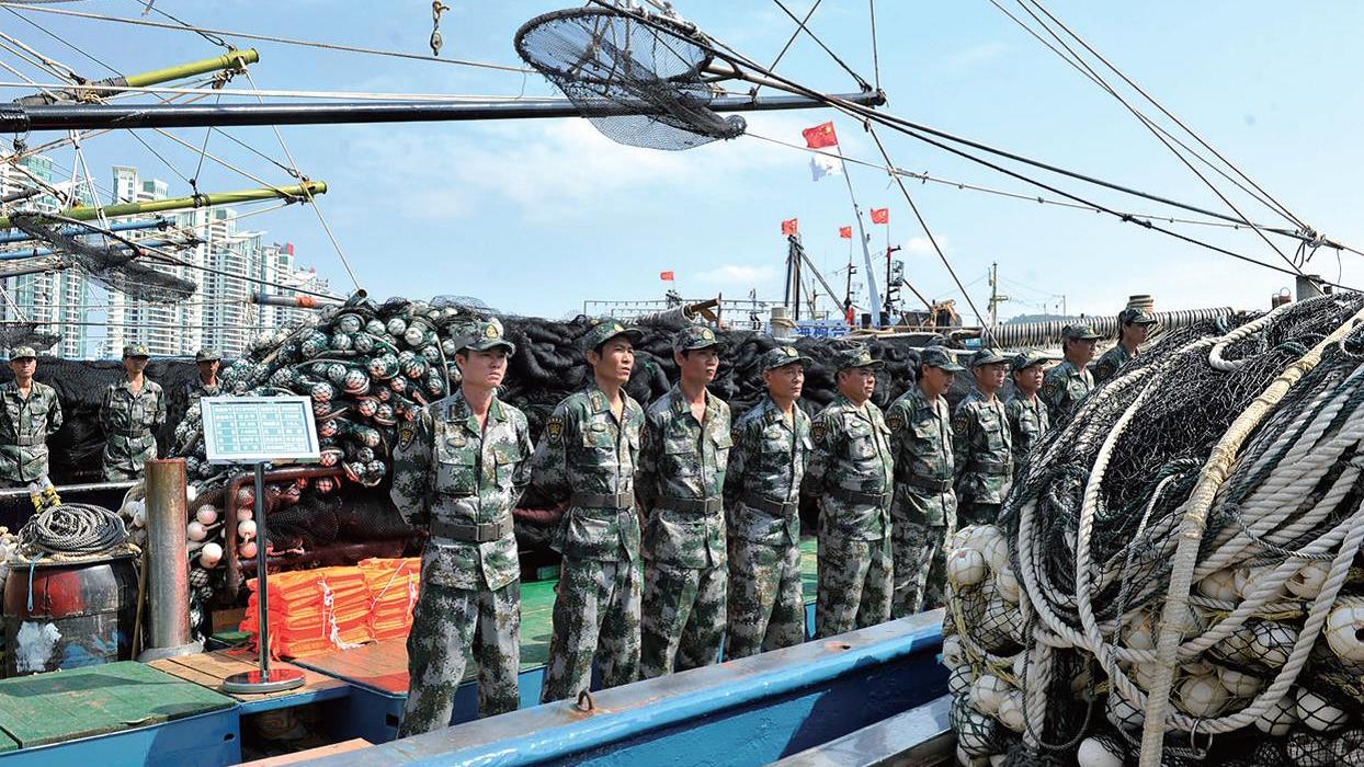 Image result for china maritime militia, photos