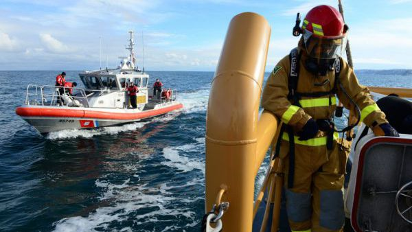 a day in the life of the coast guard monday