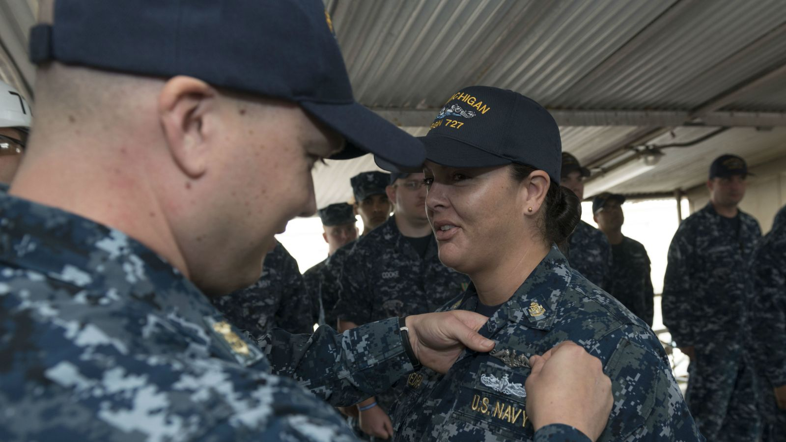 First Enlisted Woman Ready for Submarine Deployment