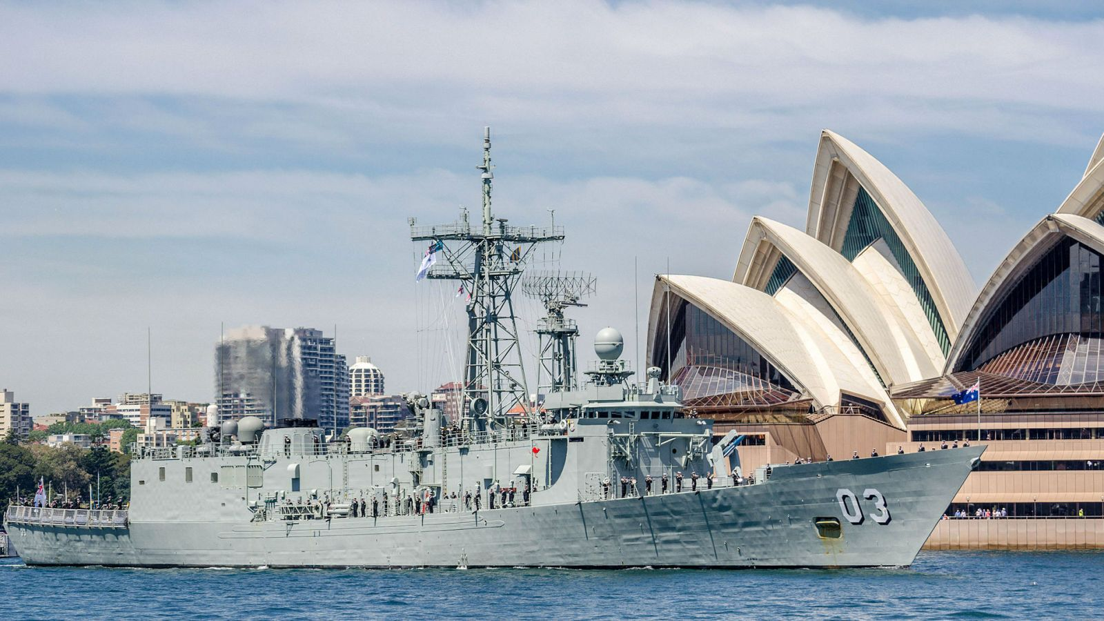 HMAS Sydney Towed Away for Recycling