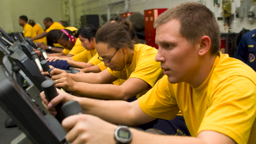 U S  Navy Loosens Physical Fitness Requirements