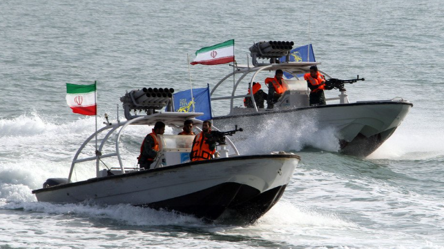 iran attack boats