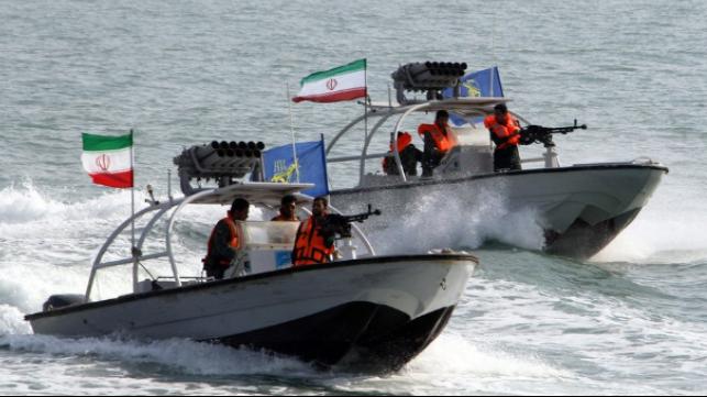US Navy fires warning shots at Iranian fast attack boats