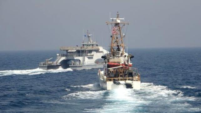 Iran harasses US Coast Guard patrol boats in Arabian Sea