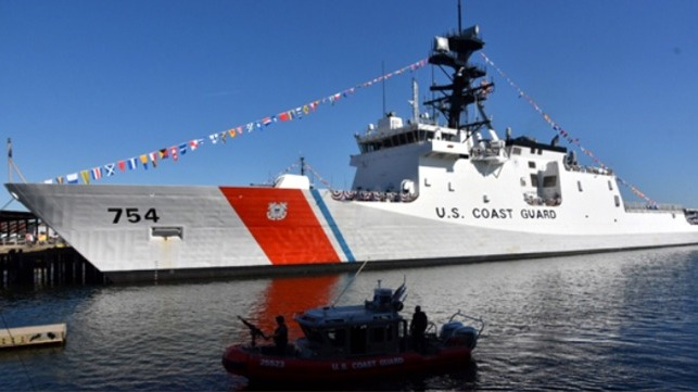 USCG names 11th cutter in the NSC class