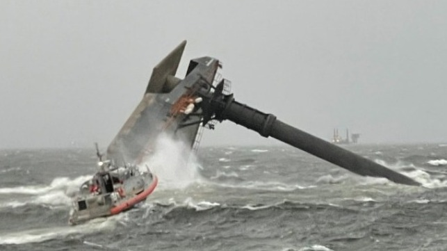 rescue operation off Louisiana for crew missing from liftboat