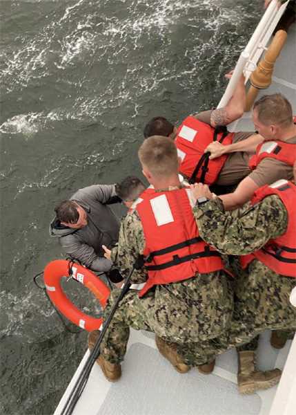Updated: 12 Crew Missing, 1 Dead, 6 Rescued After Liftboat Capsizes